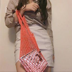 Handbags - ✨ Handmade red net bags ✨